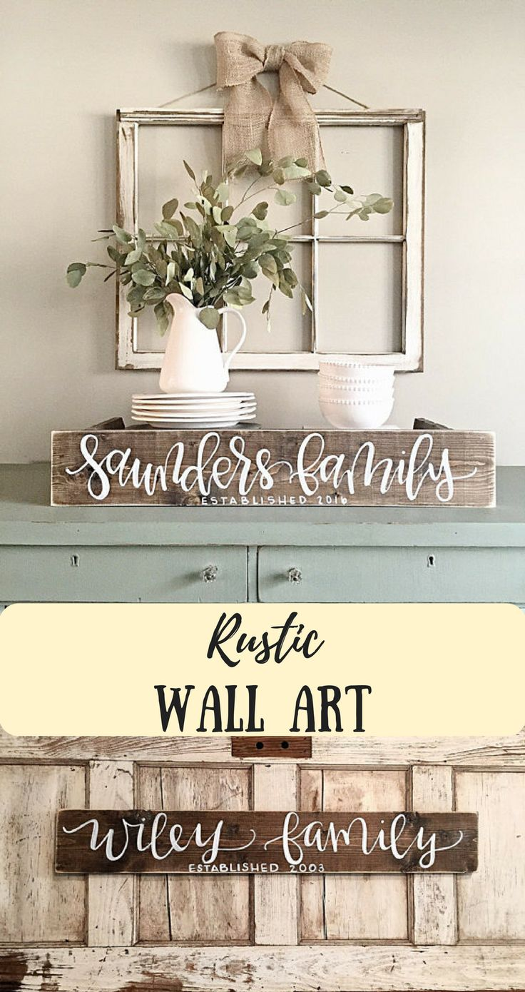 Best 25+ Personalized wall decor ideas on Pinterest | Name pallet ...