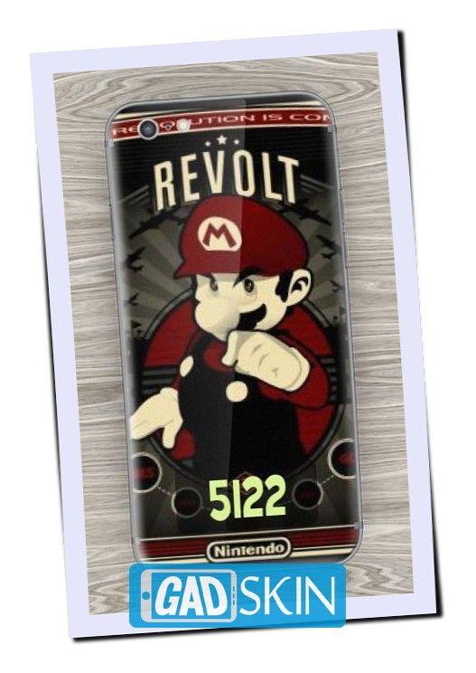 http://ift.tt/2d25zwy - Gambar Mario Revolt ini dapat digunakan untuk garskin semua tipe hape yang ada di daftar pola gadskin.
