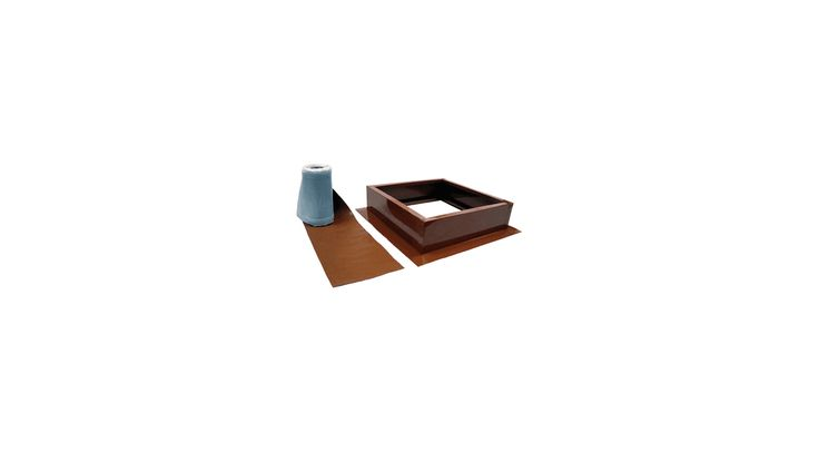 Attic Breeze AB-004 Curb Mount Roof Installation Kit Terra Cotta Accessory Roof Curb