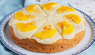 bolo de laranja com requeijao