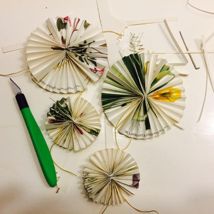 Iceflowers getting ready for december Littlelot Designstudio