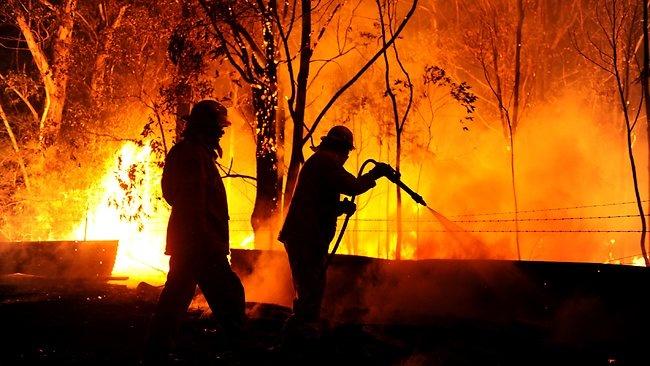 Deans Gap fire