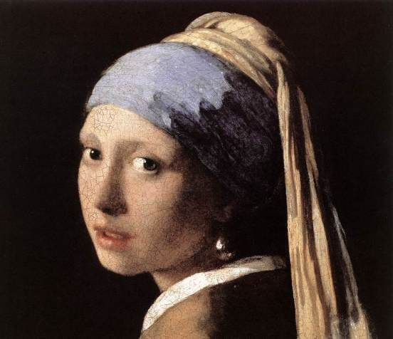 most famous paintings in the world Girl with a Pearl Earring by Jan Vermeer Top 10 Most Famous Paintings in the World Ever