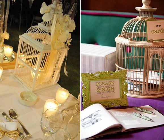 Jaulas Para Decoracion De Bodas ~   de Jaulas estilo vintage como idea para la decoraci?n de una boda