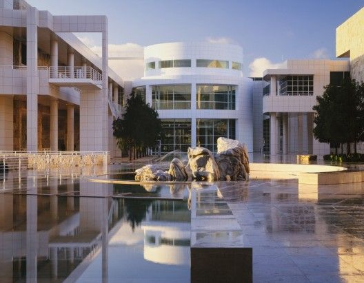 """""""White is the most wonderful colour because within it you can see all the colours of the rainbow. The whiteness of white is never just; it is always transformed by light and that which is changing; the sky, the clouds, the sun and the moon."""" - Richard Meier  Image: Getty Centre"""