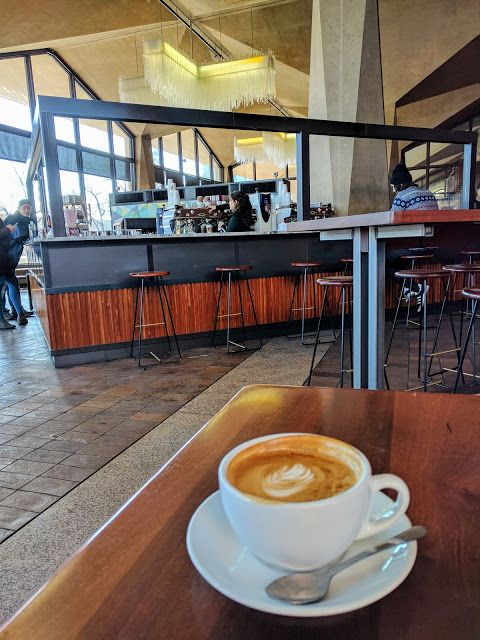 Coffee at La Colombe in Old City Philadelphia