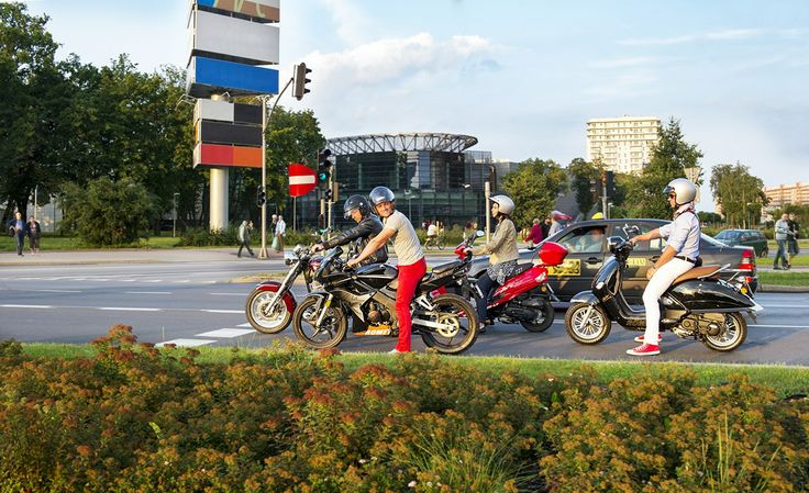 #scooters #romet #poland