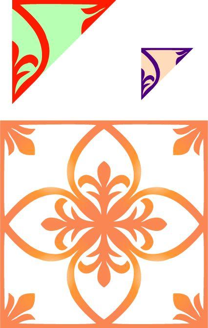 わりと簡単な切り紙の型紙(その1)の画像 - 別館かものはし・ゾーン - Yahoo!ブログ  lavoro su carta