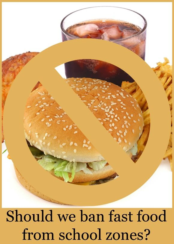 should fast food advertisements be banned Debbie states that the report, fast food facts 2013, is a follow-up to a 2010 study by yale, which found that fast-food chains were marketing to kids more than ever .