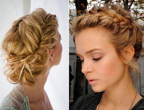 Admirable Updo Wedding And Long Hair On Pinterest Short Hairstyles Gunalazisus