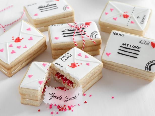 Get Love Letter Cookies Recipe from Food Network
