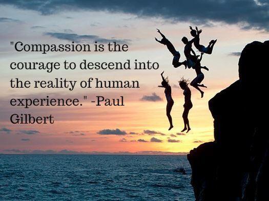 Paul Gilbert quote   Compassion   Pinterest   Gilbert o ...