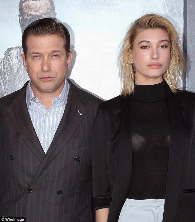 'My dad tries to help me': Hailey Baldwin (R) has taken her father, Hollywood actor Stephe...