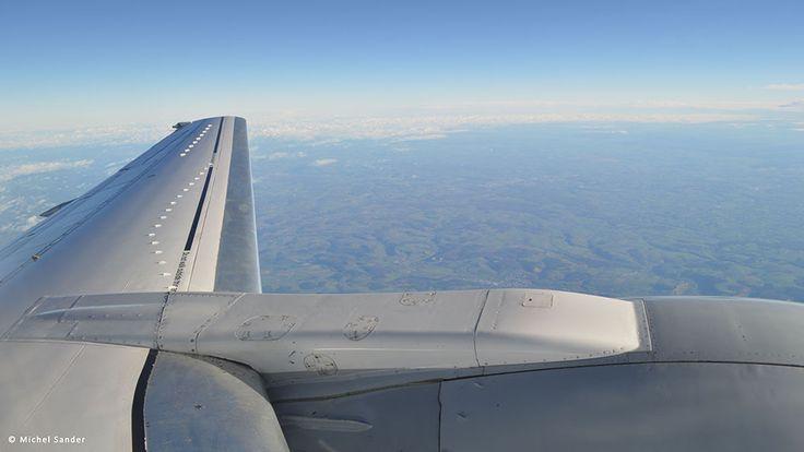 Lufthansa flight from Frankfurt to Graz