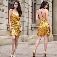 $39.99 New Spring and Summer 2017 Dress Nightclub Skirt@aizabeautyf.com