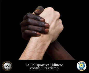Udinese - Contro il Razzismo.