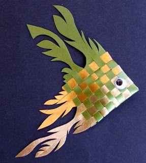 Origami Bela Flor: Peixes em Fita