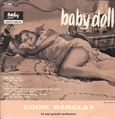 Baby Doll bof OST Caroll Baker France EP 7 Tennessee Williams
