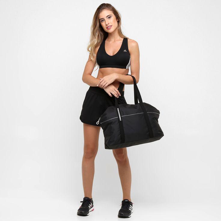Bolsa Feminina Adidas Branca : A bolsa adidas favourite gym tote preto possui design