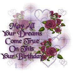 Glitter Happy Birthday Wishes | ... http animatedimagepic com happy birthday animated image happy birthday