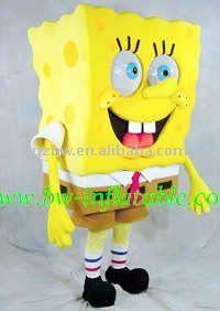 Another sponge Bob mascot costume