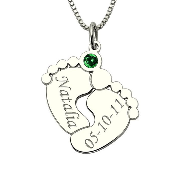 17728 best necklaces pendants images on pinterest collars wholesale baby feet necklace birthstone name necklace mothers necklace silver baby feet pendant with birthstone new aloadofball Choice Image