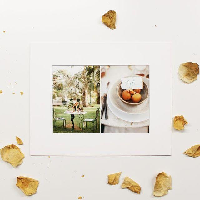 Matted prints ✨🌿 absolutely elegant! #memories #photography #littlefinearts #weddingphotographer #weddingphotography #instagood #instagram #fotografia #fotograf #photo #presentation #heirloom #bespoke #custom #petals #prints #instawedding #instadaily #instaday