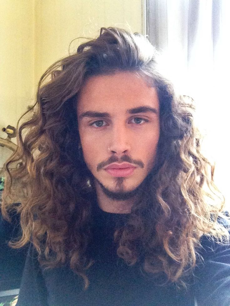 Stupendous 1000 Ideas About Long Curly Hair Men On Pinterest Long Curly Short Hairstyles Gunalazisus