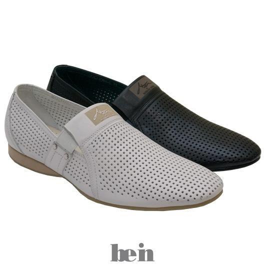 Модные мужские летние туфли