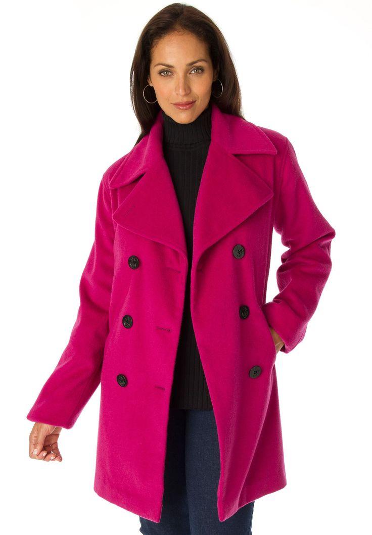 Tall womens pea coat