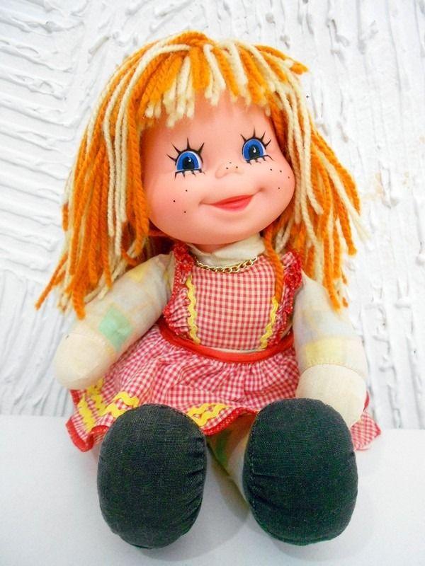 Boneca Emília Antiga - Sitio Do Pica Pau Amarelo - Estrela - R$ 74,90 no MercadoLivre