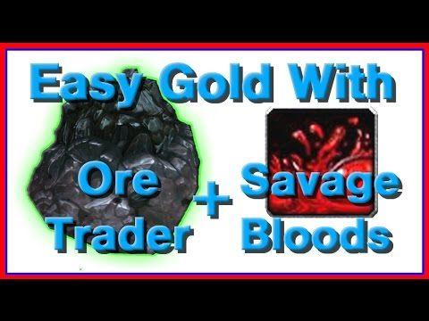 Easy Gold with the Ore Trader and Savage Bloods (Warlords of Draenor Patch 6.1) WoW http://youtu.be/Y9hlEH1OY6c