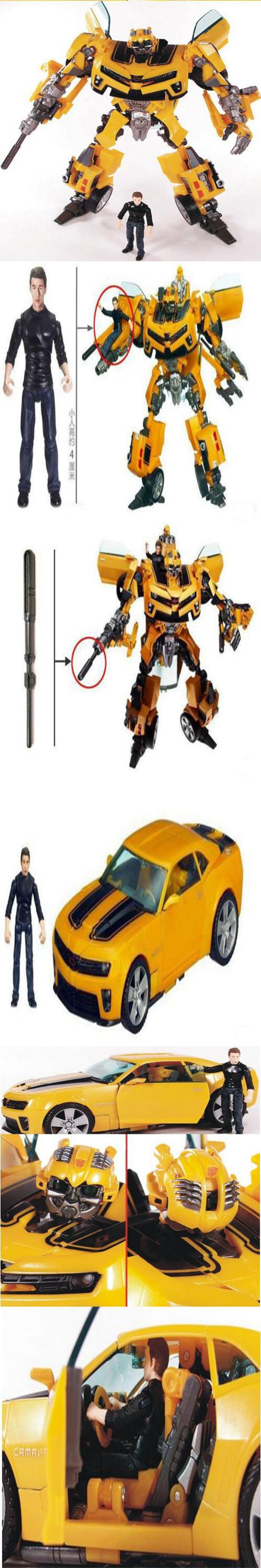 Anime Transformation Robot Bumblebee and Sam Action Figures Toys Brinquedos Robots Action Figures Classic juguetes kids toys