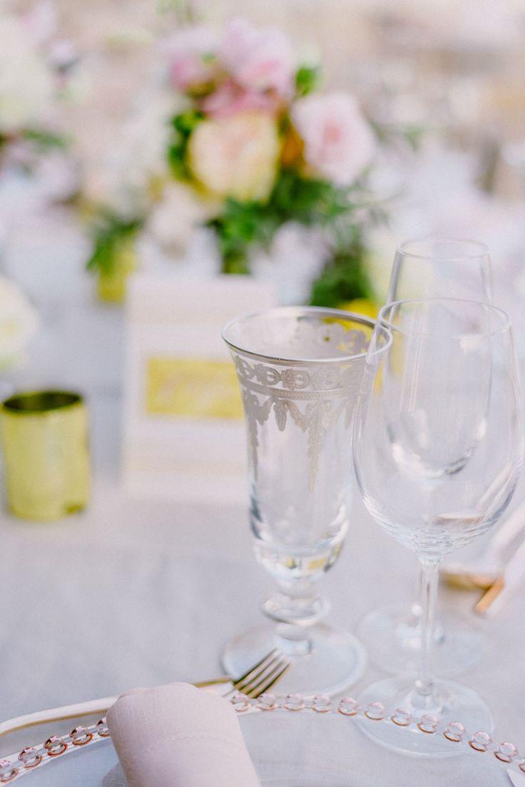 Wedding reception details | Lebanese Wedding Athenian Riviera | Elegant Wedding | Luxury Weddings | Greek Island Weddings | Destination Wedding