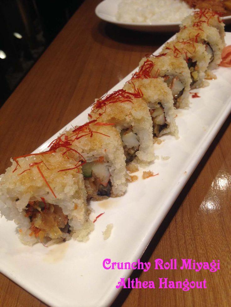 Resto : Miyagi, Nama : Crunchy Roll, Harga : IDR 40.000,-