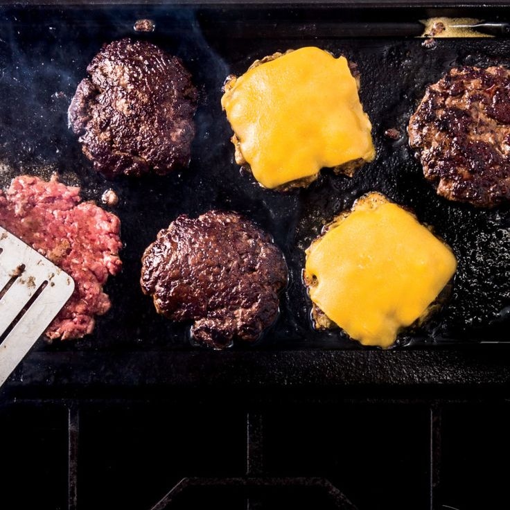 Ground chuck is a great all-purpose, buy-it-anywhere choice for burgers. But if you want to get ambitious and blend, say, chuck with ground short rib or brisket, we say go for it.