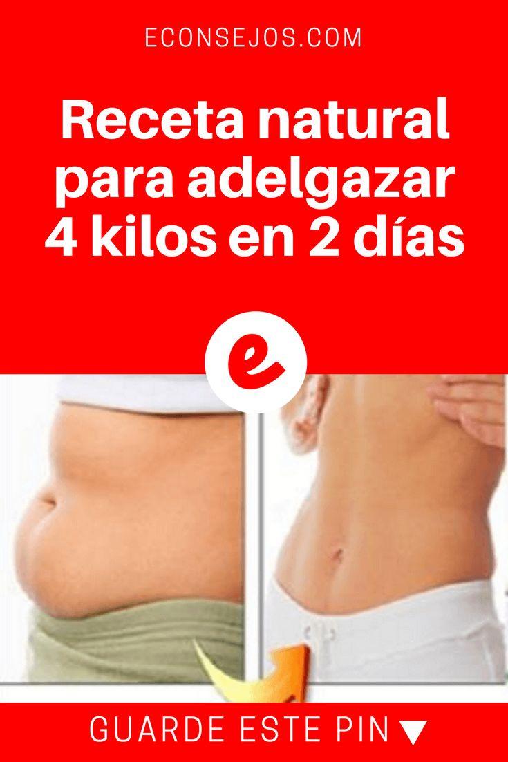 Adelgazar 4 kilos | Receta natural para adelgazar 4 kilos en 2 días | ¡Adelgace 4 kilos en 40 horas, no es milagro,y no hace mal a la salud, basta tomar esta receta 3 veces por día! Consiga con un abdomen plano y deshinchado.