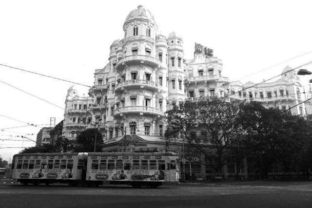 'Esplanade Mansions' Colonial Art Nouveau architecture, Calcutta, 2013, by Prabir Purkayastha