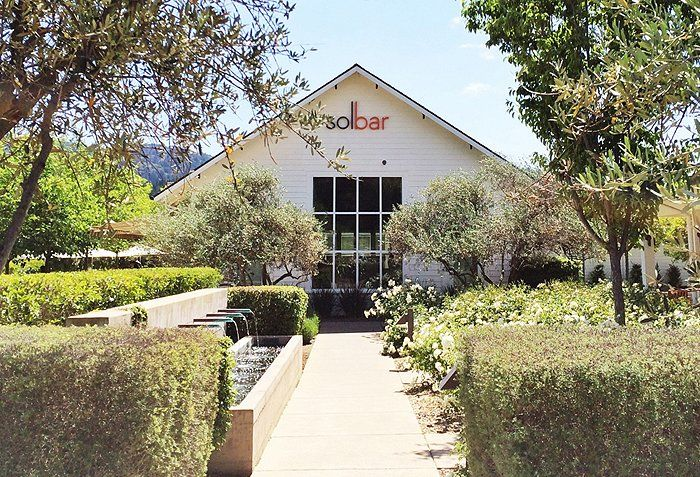 One of the best spots to eat in Napa: Solbar. Yum!