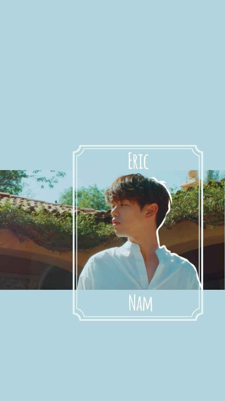 Eric Nam wallpaper/lockscreen shared by Stephanie | Wallpapers