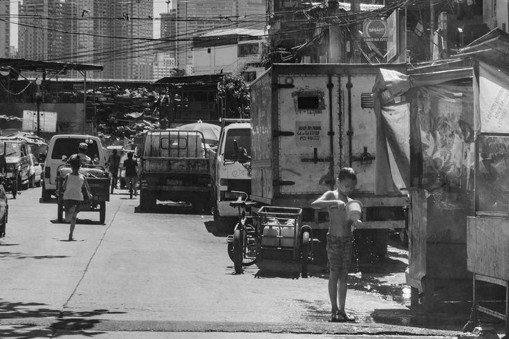 Urban bliss. Humans of San Andres Bukid.