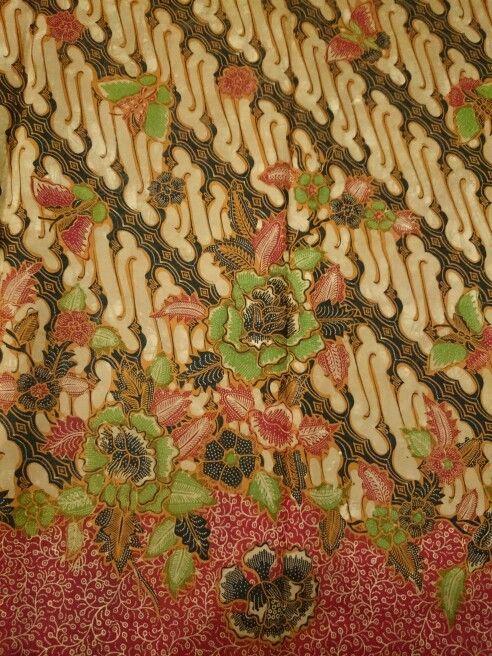 Hokokai batik