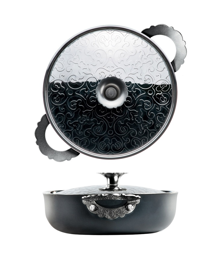 """Dressed"" cookware collection by Marcel Wanders for Alessi"