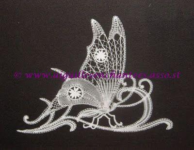 Papillon - réalisation Line - Aiguilles Enchantées