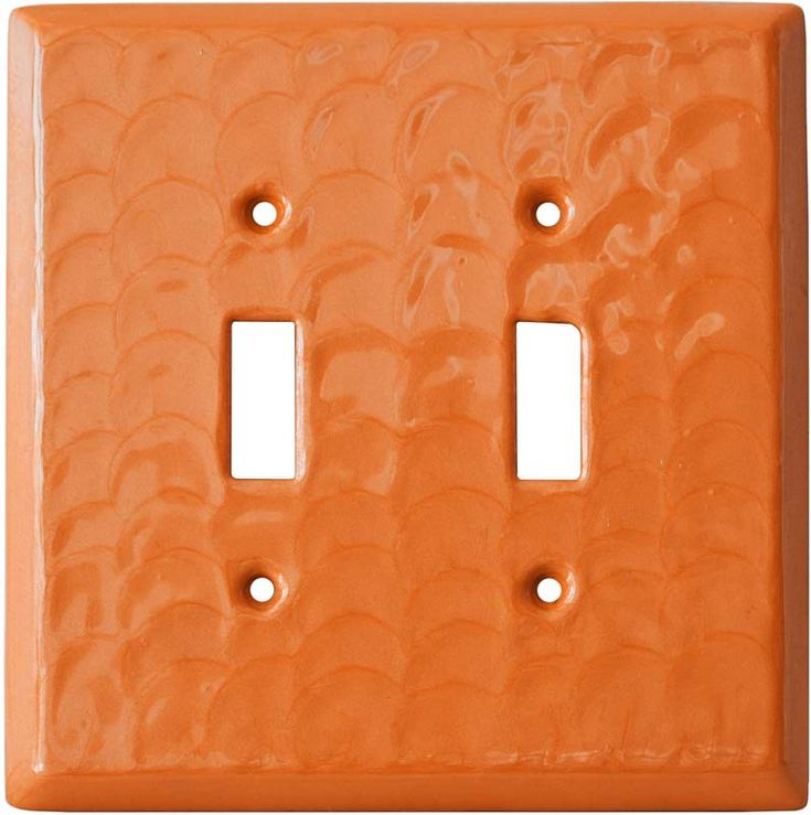 ORANGE MOTION Switch Plates, Outlet Covers & Rocker Switchplates