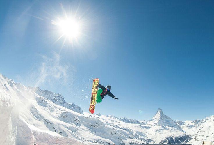 #grab the #tail #Zermatt