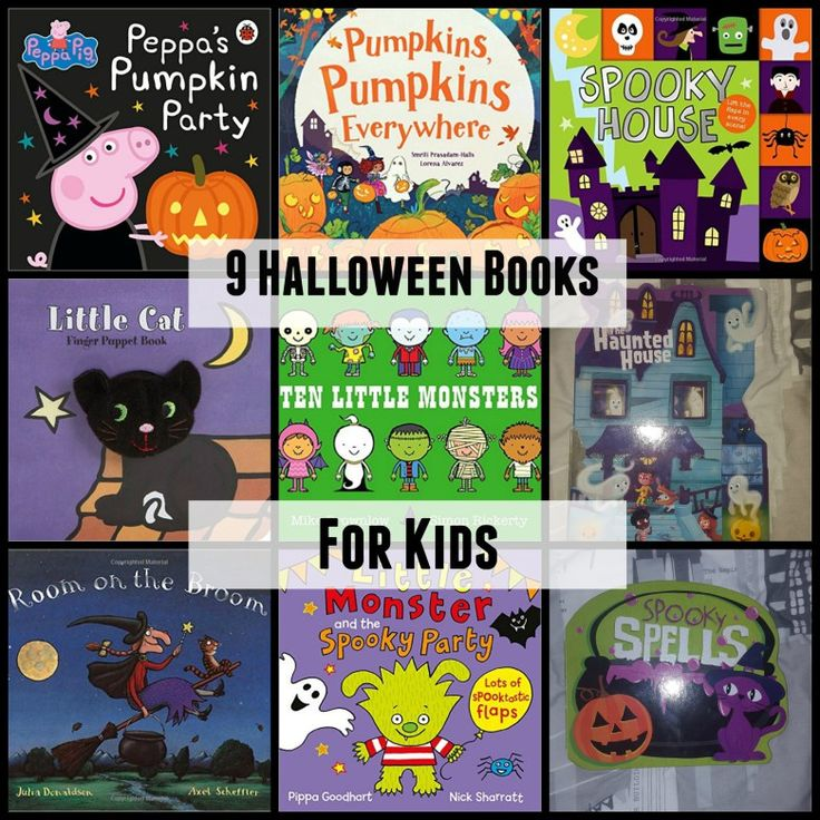 Halloween Books your children will love reading this season.