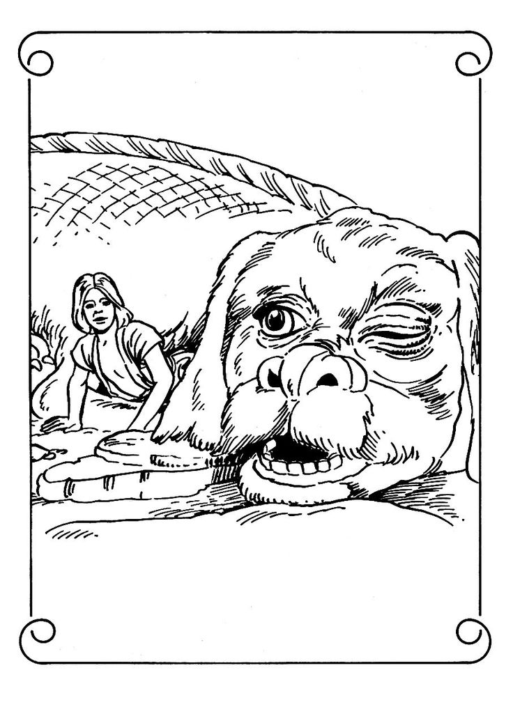 falcor the luck dragon coloring pages | 31 best Coloring Pages (Berenstain Bears) images on ...