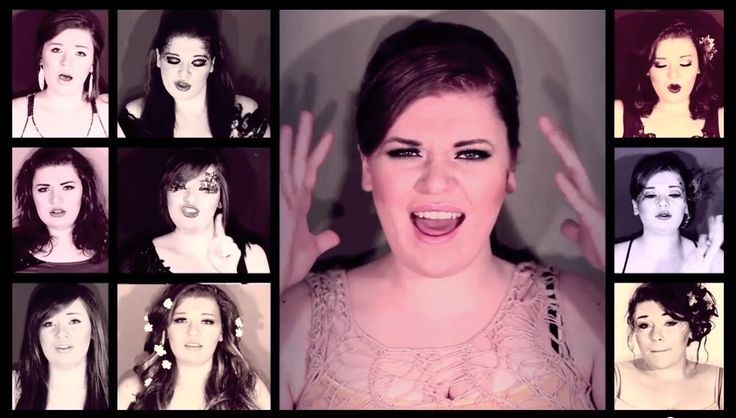 One Woman A Cappella Adele 21 Medley by @Heather Traska, via YouTube. Amazing