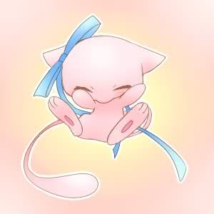 Mew cutie (I have this in my locker)